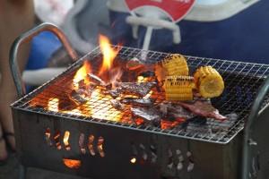 バーベキュー BBQ 施設 スポット 雨 屋根 無料 ペット