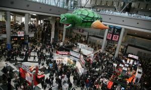 東京おもちゃショーの混雑