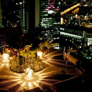 大阪 ディナー 個室 夜景