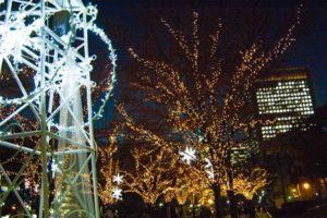 神戸ルミナリエ用のコインロッカーの場所