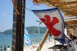 内海海水浴場 海の家 駐車場 サーフィン