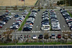 COMIN'KOBEの駐車場