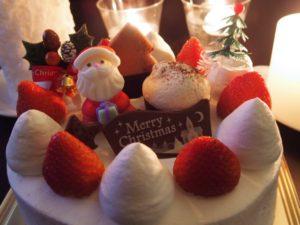 コンビニでクリスマスケーキを半額に